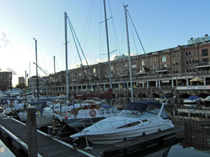 City Marina and Entrepot shops